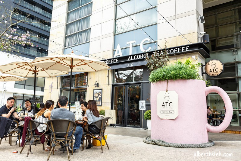 ATC alcohol tea coffee.台中美食咖啡廳