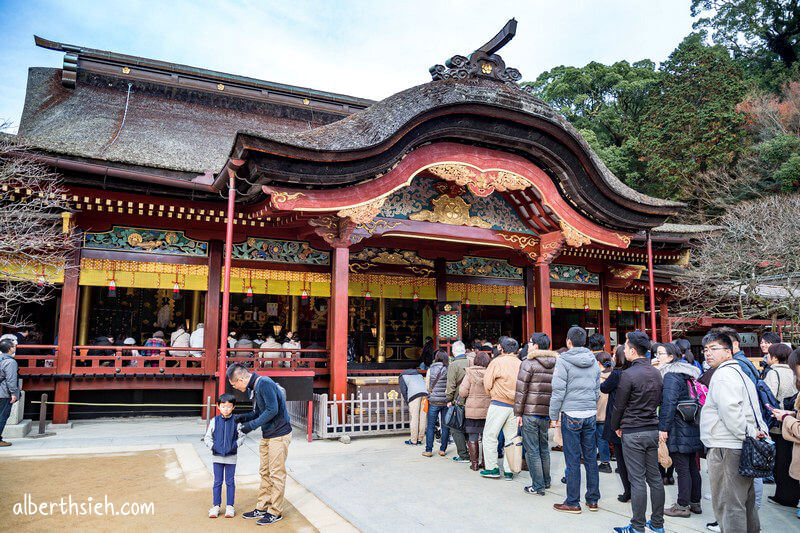 太宰府天滿宮.九州福岡景點(日本的孔廟求學問祈願的神社)