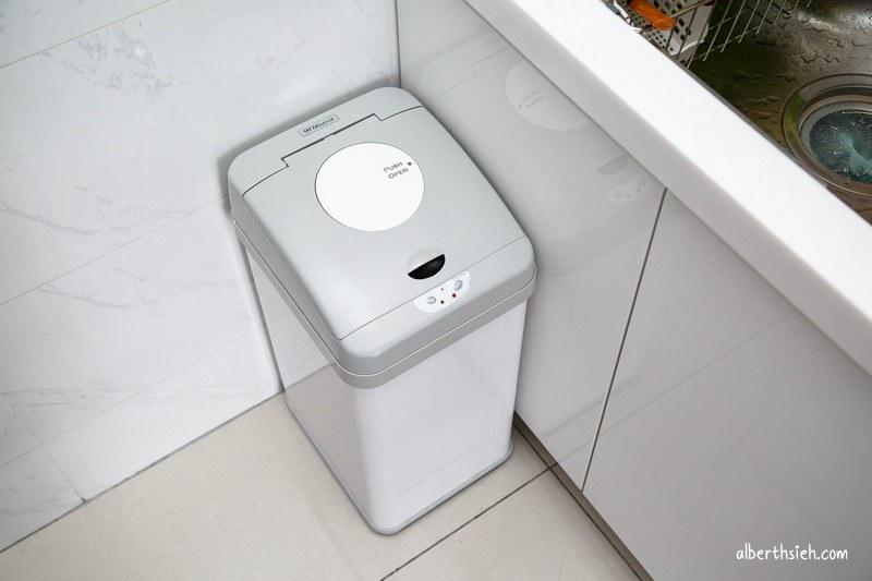 美寧智慧型感應壓縮垃圾桶