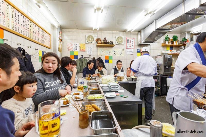 八重勝串炸.大阪新世界美食