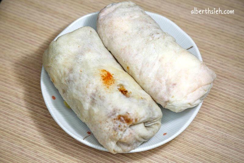 姜記&旺仔潤餅.桃園美食(火車站前大排長龍的人氣小吃)