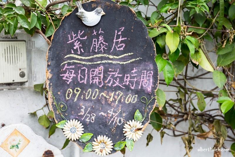 新埔紫藤居.新竹賞花景點