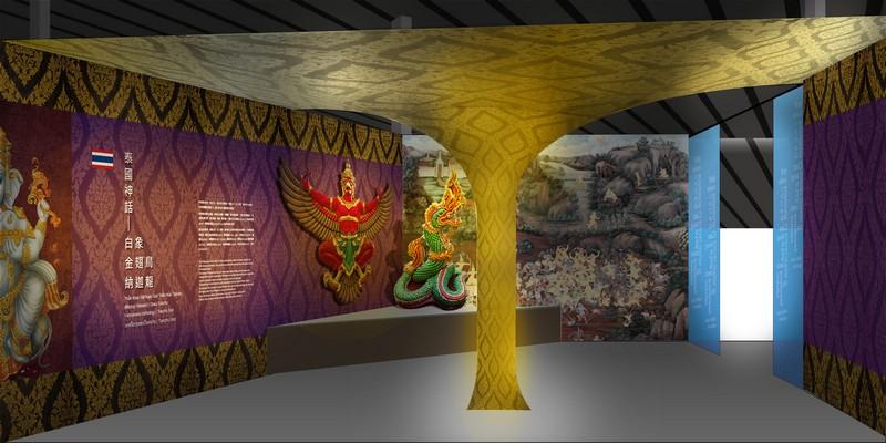 2019桃園農業博覽會泰國神話區