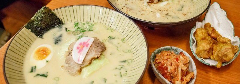博多11川番町豚骨拉麵.銘傳龜山美食