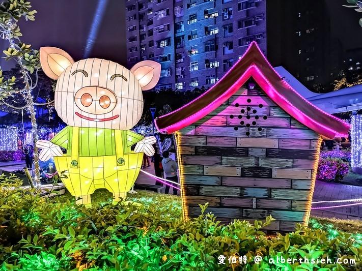 2019桃園燈會魔法童話城