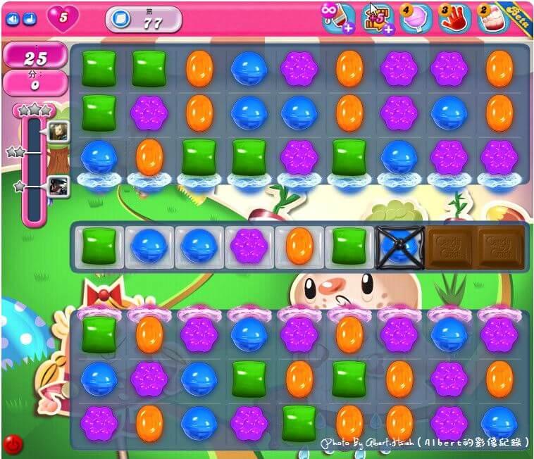 【APP遊戲】Candy Crush Saga(讓你擁有無限愛心玩到過關為止) @愛伯特吃喝玩樂全記錄