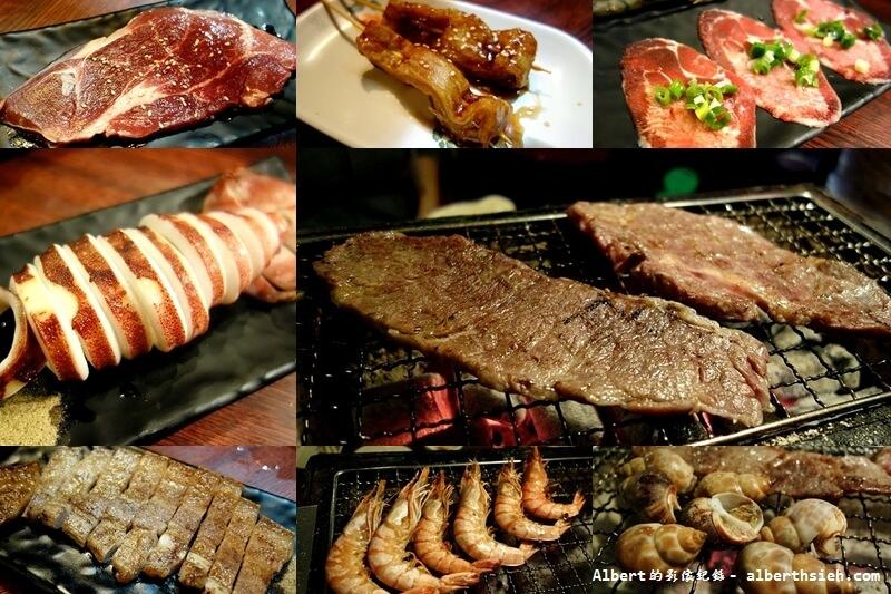 【燒肉吃到飽】新北市泰山.鑽木取火日式燒肉(超大厚實牛排鮮嫩多汁) @愛伯特吃喝玩樂全記錄