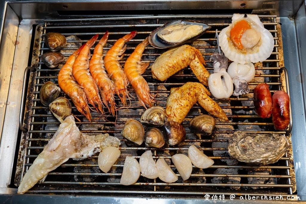 鱻海鮮炭烤火鍋吃到飽.桃園鮮魚吃到飽
