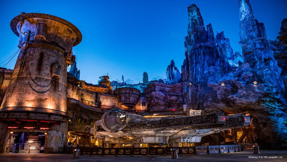 迪士尼樂園視訊會議背景圖