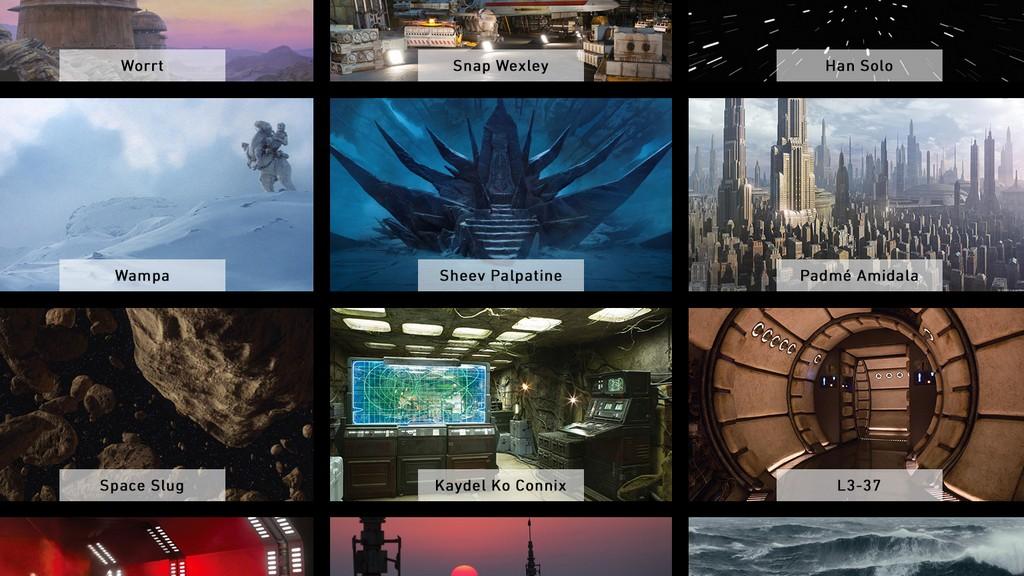 星際大戰背景圖