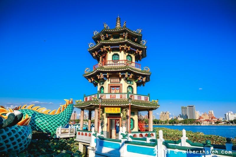 高雄蓮池潭風景區:龍虎塔