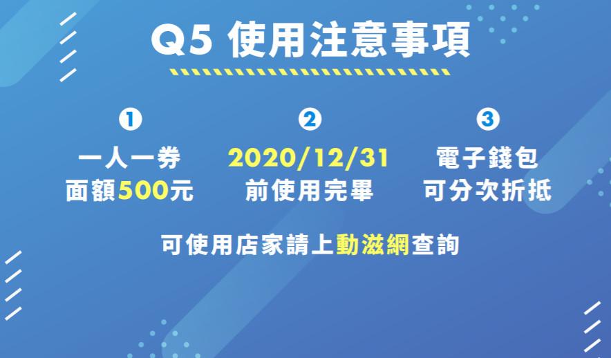 500元動滋券