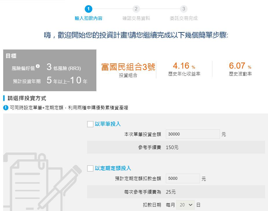 國民e帳戶:國民理財機器人
