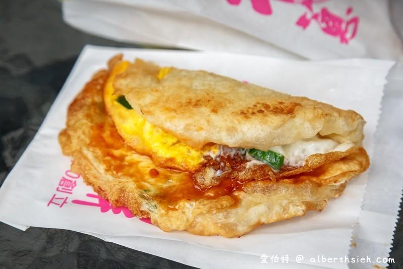 宜蘭礁溪排隊美食:柯氏蔥油餅