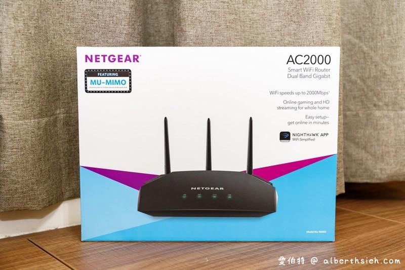 Netgear R6850 AC2000雙頻無線路由器(搭配MU-MIMO技術/2 4&5GHz雙頻