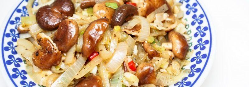 洋蔥炒香菇.Aries食譜