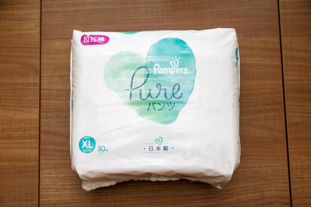 幫寶適Pure有機棉尿布