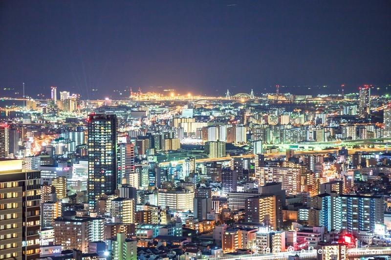 大阪360度百萬夜景。梅田藍天大廈空中庭園展望台