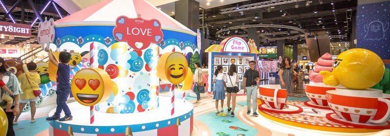 emoji夏日遊樂園
