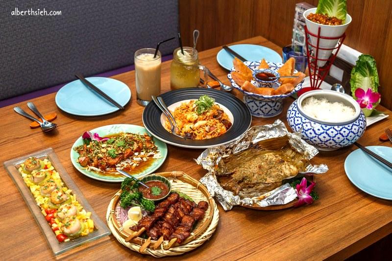 泰集Thai Bazaar泰式料理.桃園中茂新天地美食(餐點精緻裝潢氣氛佳)