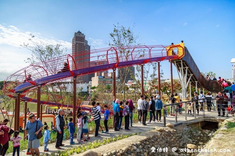 風禾公園溜滑梯.桃園免費親子景點