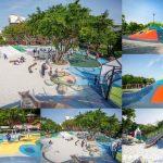 網站近期文章:桃園親子景點.平鎮新勢公園共融兒童遊戲場(3公尺海洋主題山丘、沙坑、宇宙旋轉遊戲)